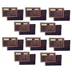 10 Calcolatrice a pannello solare calcolatrice solare