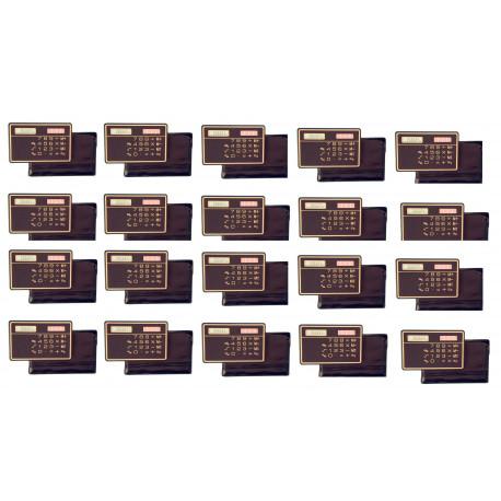 20 Calcolatrice a pannello solare calcolatrice solare