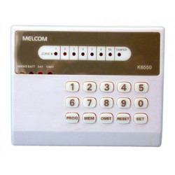 Keypad electronic alarm keypad with led for c8z (k6550) control panel electronic security alarm access control keypad alarm cont