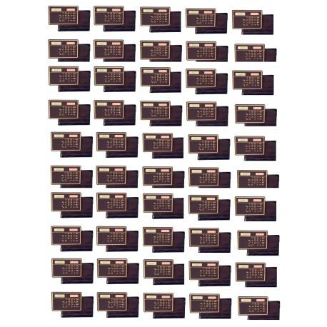 50 Calcolatrice a pannello solare calcolatrice solare