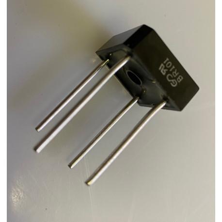 Diode bridge br101 5a current rectifier DIMBR10100CT