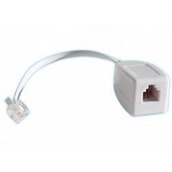 50 X  Rj11 linea di pompaggio telefonica come un fax / modem / adsl scaricatore di sovratensione telefono 3ka