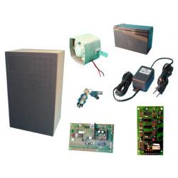 Kompaktalarmset nicht montiert in einer schatulle fur lautsprecherbox alarmanlage elektronik