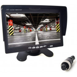 "7 ""TFT LCD Monitor 12V 24V Night System Bus Trailer Van Truck Motorhome"