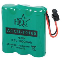 Accu hq pour telephone sans fil nimh 3.6 volts 1000 mah bosch accu t0160 panasonic philips samsung