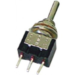 ON-OFF-ON 1RT Single Pole Right Lever Miniature Inverter for Printed Circuit COB68CP