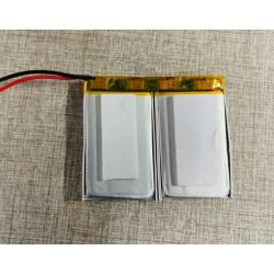 Batteria ricaricabile 7.4v 850ma per allarme gsm autonomo con citofono a pulsante di chiamata di emergenza sos