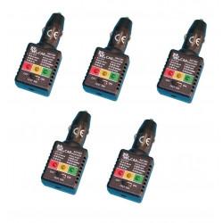 5 Tester per batteria e caricatore auto collegamento accendi sigari accessori auto