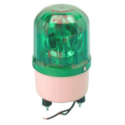 Electrical rotating light 220vac 10w green fixed rotating light (fixation by screw) light warning emergency lights warning light