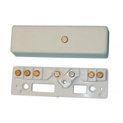 Selbstschutzender anschlusskasten mit 5 stiften anschluss einer alarmanlage telefon haustechnik