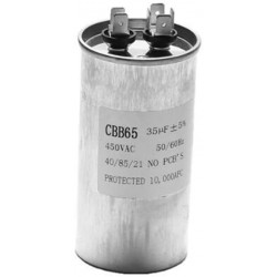 Starter capacitor CBB65 50UF motor Compressor Air conditioner 450v refrigerator washing machine fan