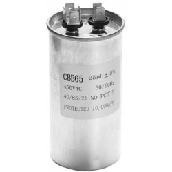 Condensatore di avviamento Motore CBB65 25UF Compressore Condizionatore d'aria 450v frigorifero lavatrice ventola