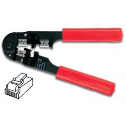 Pince rouge a sertir pour 6p6c 6p4c 6p2c pour connecteurs modulaires rj12 outil vtm6