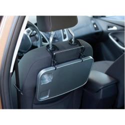 Foldable car tray