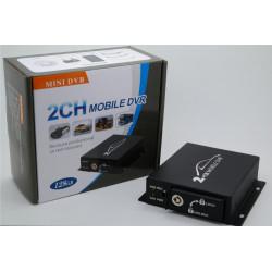 Enregistreur vidéo numérique 2 canaux dvrsd1 enregistrement sur carte sd sdhc (jusqu'à 32go)
