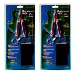 2 Mini pince 12 fonctions tournevis plat cruciforme petit grand couteau lime à ongles ciseau porte cles pince a couder vtmpp4