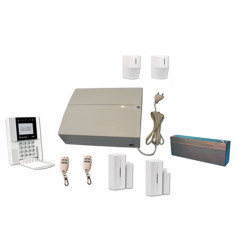 Pack 868mhz wireless alarm jablotron jk-84 with telephone transmitter ja80x