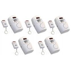 5 Ir allarme rilevatore di movimento autonomo 5 telecomando e il volume della sirena st205