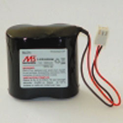 Batli06 5ah 7.2v batteria 5.8ah pil-s04 dp1000 dp8000 litio atral logisty daitem visonic somfy