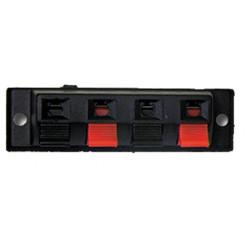 Terminal 4 clips rectangular cok283