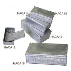 Coffret metallique aluminium haca16 190 x 110 x 60 mm coffre boite boitier