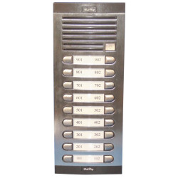 Quadro di 18 pulsanti supplementari per citofono collettivo accessori citofono condominio