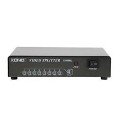 Multiplicateur video 8 vga splitter könig pour 8 ecran moniteurs cmp-switch99