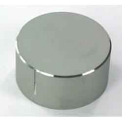 Haed1940 aluminium drehknopf für 6mm welle ø 40mm aluminium-außen-, innen kunststoff