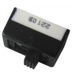 Switch dispone di 2 slide-on di montaggio sul 6a di commutazione tra l'interruttore ts 11p