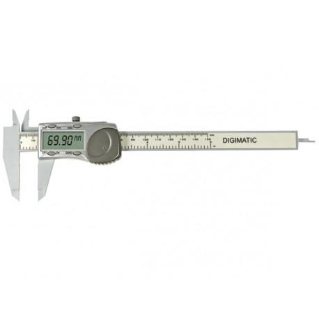 Calibro a corsoio digitale calibro 150 millimetri gamma di plastica del display 3472bp
