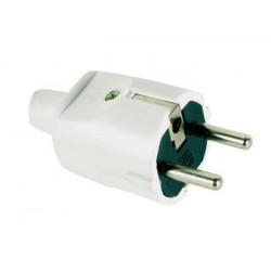 Fiche electrique mâle secteur 220v 16a electricite branchement acm2w emp1 velleman perel 230v 240v