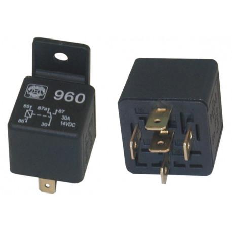 2 Relais 12vdc 1 no nc kontakt 30a unter 220vac elektrisches relais sicherheitstechnik elektrisches