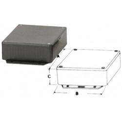 Boitier abs noir 150 x 80 x 46 mm coffre coffret boite plastique ha1591dfbk