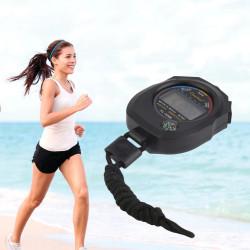 Chronomètre 1/100 de sport Chronomètre numérique Compteur Chronomètre Compteur Sport Alarme Sport XL-009B