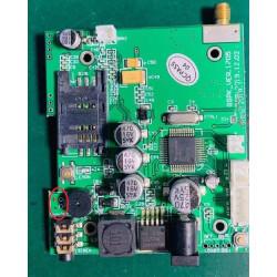 GSMSOS pcb circuit Autonomous gsm alarm emergency sos call with intercom