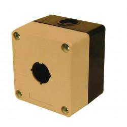 Gehausen box122 22 fur knupfen mit warnlichte gehause mit einem loch von 22mm bpr22