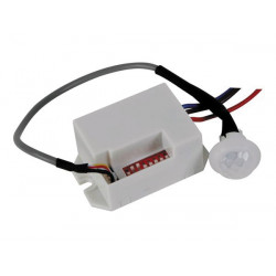 Mini detector de movimientos pir para empotrar