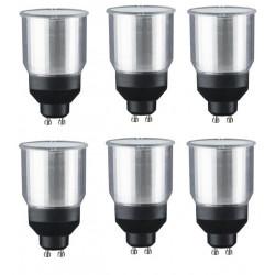 6 X Economia di energia lampadina mr16 gu10 gu10 11w-e-03