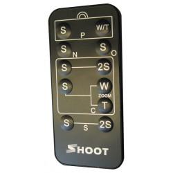 Funzione di controllo multi telecomando 5 in 1 per canon nikon olympus pentax konica minolta soni
