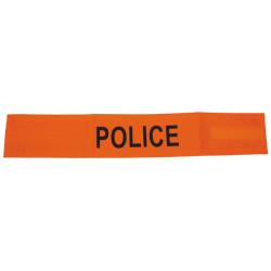 Armbinde fur polizei farbe orange fluoreszierend mit klettverschluss armbinde sicherheit armbinde
