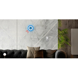Sirena inalámbrica autónoma 433MHz tuya sonido y sistema de alarma de seguridad para el hogar ligero