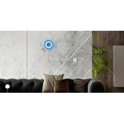 Sirena senza fili autonoma 433MHz tuya sistema di allarme di sicurezza domestica suono e luce