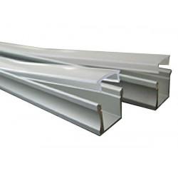 Perfil de aluminio para cintas con leds 2m