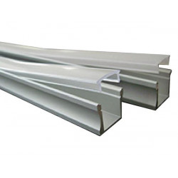 Profilo in alluminio per l'illuminazione a led flessibile 2m chlap1