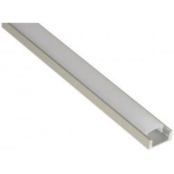 Profile en aluminium chlap8 pour eclairage lumiere led slim 2m