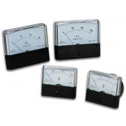 Voltmetro analogico 15v cc tavola 60 x 47mm avm6015
