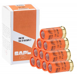 10 balles cartouche caoutchouc calibre 12/50 munition pour arme gc27 gv27l gc54 gc54da fun tir