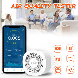 Air Quality Tester Digital CO2 Detector Phone APP Carbon Dioxide Analyzer