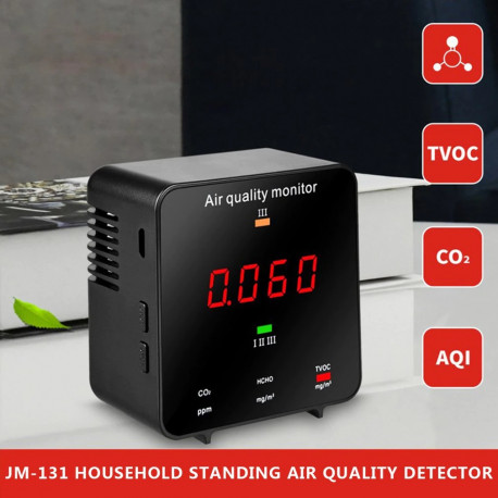 Portable CO2 Meter Tester Humidity Sensor Temperature Air Quality Detector Dioxide