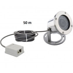 Stainless Steel 1080P Underwater POE IP Network Camera Support Multi-browser Access Free APP Remote Monitoring 150Kpa Pressure